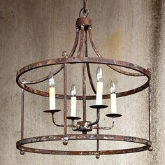 Our rustic chandelier is a pendant light with farmhouse French charm. Use this rustic pendant light chandelier to highlight your favorite spaces. For more visit, www.decorsteals.com OR www.facebook.com/decorsteals