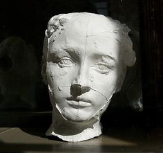 entregulistanybostan:    streloff    The mask of Camille Claudel, 1884by Auguste Rodin