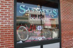 Pinned on sassafras boutique. next door to My Place! http://www.sassafras-boutique.com/