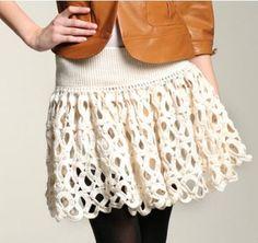 Todo para Crear ... lots of skirt patterns and charts