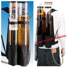 Double beer or alcohol dispenser @ clubsparklers.com