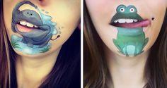 Yaratıcı Dudak Makyaları | En Trend Makyaj Videolari
