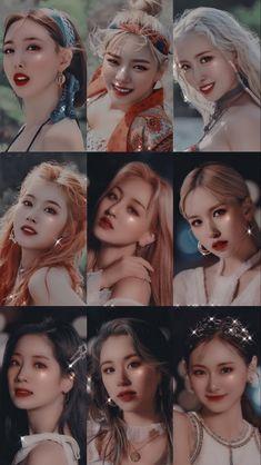 Kpop Girl Groups, Korean Girl Groups, Kpop Girls, South Korean Girls, Twice Dahyun, Tzuyu Twice, Extended Play, Nayeon, My Girl