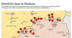 Trêve illusoire: situation dans le Donbass