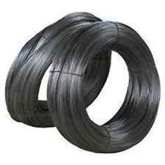 a negro recubierto con pvc forzando linea alambre acero core tension esgrima 90m 180m 450m
