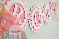 The Works Birthday Banners, Special Occasion, name banner, nursery decor, photo…