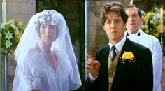 Wedding Dress In Movie Four Weddings And A Funeral 1