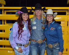 Three World Champs-Fallon, Sherry, and Mary