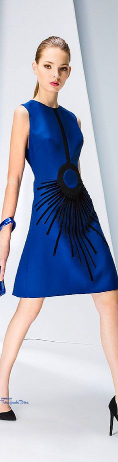 Fall 2015 Ready-to-Wear Georges Hobeika Dress Skirt, Peplum Dress, Color Azul, Blue Fashion, Womens Fashion, Dress Me Up, Georges Hobeika, Eminem, Blue Dresses