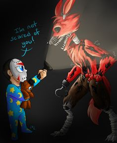 H2O Delirious Five Nights at Freddy's 4 Art. He is hilarious