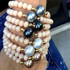 Bracelets By Vila Veloni Elegant Mallorca Pearls