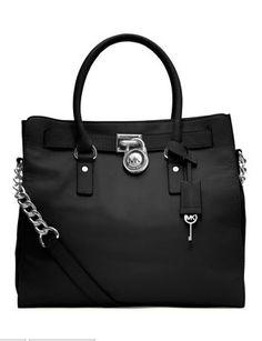 Michael Kors Handbag Black Hamilton