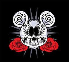 Sugar skull Mickey