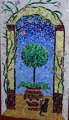"""Cat and Tree"" by Cristina Cassina"