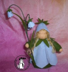 Blumenkinder-Werkstatt: Glockenblume, bellflower