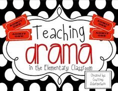 This guide takes the guesswork out of teaching dramas and plays in the elementary classroom!