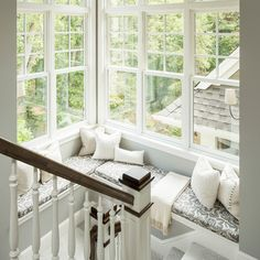 Landing window seat..love!