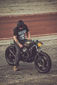 Moto-Mucci: DAILY INSPIRATION: Honda CX500 Cafe Racer by Nozem Amsterdam