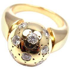 Van Cleef & Arpels - VCA Diamond Yellow Gold Ring