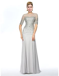 Mother of the Bride Dress Floor-length Chiffon Sheath/Column Dress. Get unbeatable discounts up to 70% Off at Light in the box using Mother's Day Promo Codes.