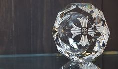 "CHROME HEARTS|クロムハーツ 「CHROME HEARTS TOKYO」1階にて展示 ""Baccarat for Chrome Hearts Crystal Collection"""