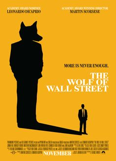 The Wolf Of Wall Street by Omar Bustamante, via Behance