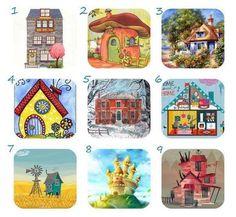 Válassz ki egy házikót, olyant árul el rólad, amire eddig nem is gondoltál Tarot Cards, Clock, Frame, Home Decor, Tarot Card Decks, Watch, Picture Frame, Decoration Home, Room Decor