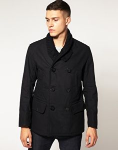 Alpha Industries Captain Pea Coat : Men&39s Pea Coats | Wears