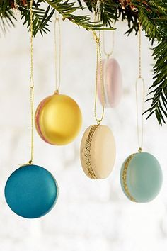 Macaron Ornament Set - Urban Outfitters | @giftryapp