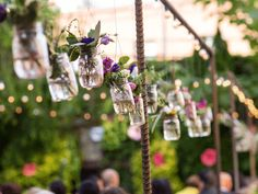 11 Must-Have Decor Accents For a Backyard Wedding   Photo by: Montenegro Photography   TheKnot.com
