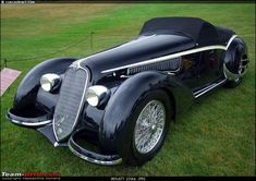 How rich were the Maharajas before Independence! Cars of the Maharajas-1938 alfa 8c 2900b