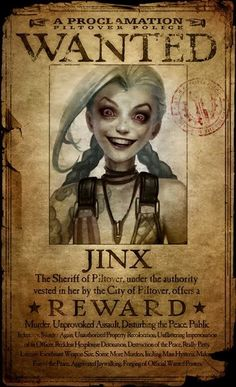 Get Jinxed ! Jinx League of Legends