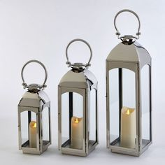 Riado Capri Nickel Finish Lantern has a minimalism style. These traditional style lanterns are found all over the luxury homes and hotels and are great to light the entrance, the yard, or simply cluster around the pool, at sunset.