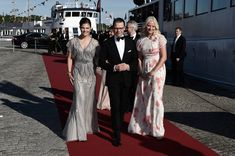 Crown Princess Victoria of Sweden and her husband Prince Daniel of Sweden and Princess Mette-Marit of Norway arrive for the Pre-Wedding Dinner for Prince Carl Philip and Sofia Hellqvist on June 2015 in Stockholm, Sweden. Princess Victoria Of Sweden, Crown Princess Victoria, Victoria Prince, Prince Carl Philip, Prince Daniel, Pre Wedding Party, Wedding Dinner, Photo L, Stockholm Sweden