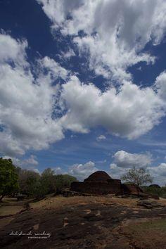 the ruins of Medirigiriya