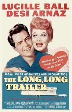 The Long Long Trailer Poster