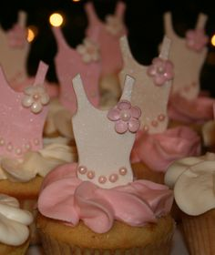 Edible Ballerina Leotards Cupcake Toppers
