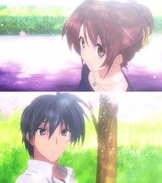 Nagisa And tomoya SO CUTE!!!! Yet such a sad anime!! Clannad