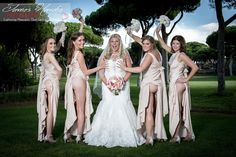 Sometimes we come across some really cheeky bridesmaids at our Algarve weddings!