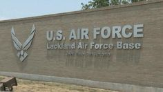 Lackland Air Force Base ~ San Antonio, Texas ~ where my husband took his basic training in the Air Force in 1950.