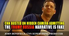 CNN busted on hidden camera admitting Russia ties are used to keep their ratings. All while sipping on Chick-A-Fillet drink...the same restaurant chain liberals boycotted. Wow