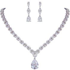Ever Faith Silver-Tone Full Prong Cubic Zirconia Flower Teardrop Elegant Bridal Pendant Necklace Earrings Set Clear N06463-1 Ever Faith http://www.amazon.ca/dp/B0142942XU/ref=cm_sw_r_pi_dp_SHU2vb0K0SXHB