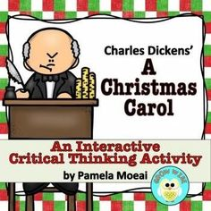 Take a different look at the holiday classic with this interactive PowerPoint that will give your students practice in critical thinking. Fun and engaging!