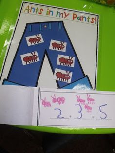 We learned some cool facts about ants. and played a fun Ants in My pants game to help us practice our addition facts. Kindergarten Classroom, Teaching Math, Kindergarten Addition, Teaching Ideas, Classroom Ideas, Elementary Teacher, Future Classroom, Preschool Science, Preschool Activities