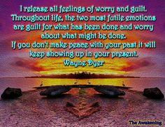 Release all feelings