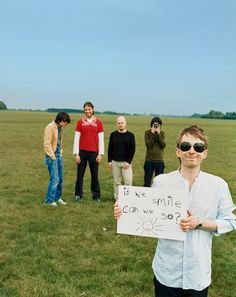 Radiohead. I don't even listen to this band, I just love this picture.
