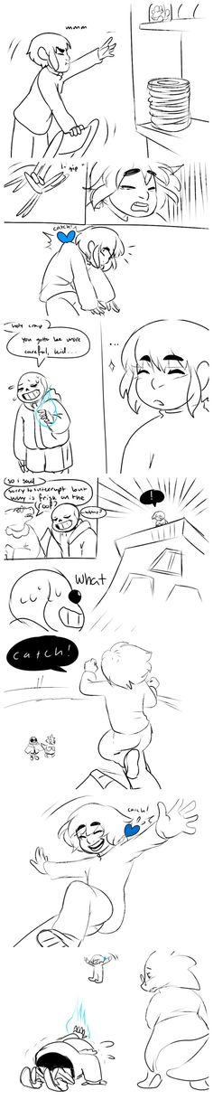 """This would most definitely be me. Just """"HEY SANS!!! TRUST FALL!!!"""""""