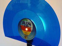 NEU! Tischlampe aus Schallplatte, Lampe, Vinyl