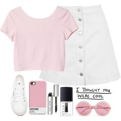 A fashion look from September 2015 by thelonelyheartsclub featuring Monki, Topshop, Superga, Wildfox, Bobbi Brown Cosmetics and NARS Cosmetics