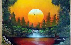pinturas artisticas de paisajes - Buscar con Google